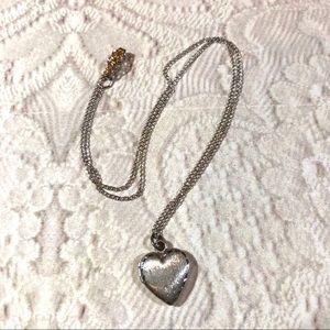 Teeny Tiny adorable vintage heart locket necklace